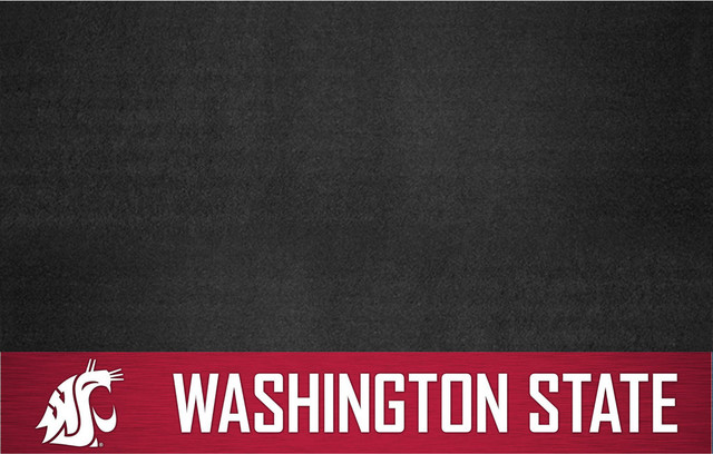 Washington State Cougars Bbq Grill Mat.