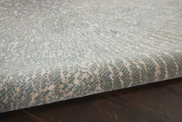 Inspire Me Home Decor Elegance Contemporary Rug Gray 22x76 Runner