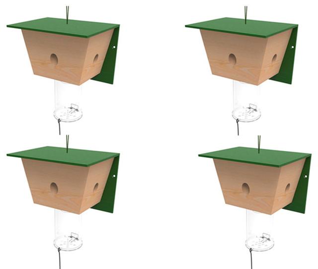 Best Bee Trap Carpenter Bee Trap, Set of 4