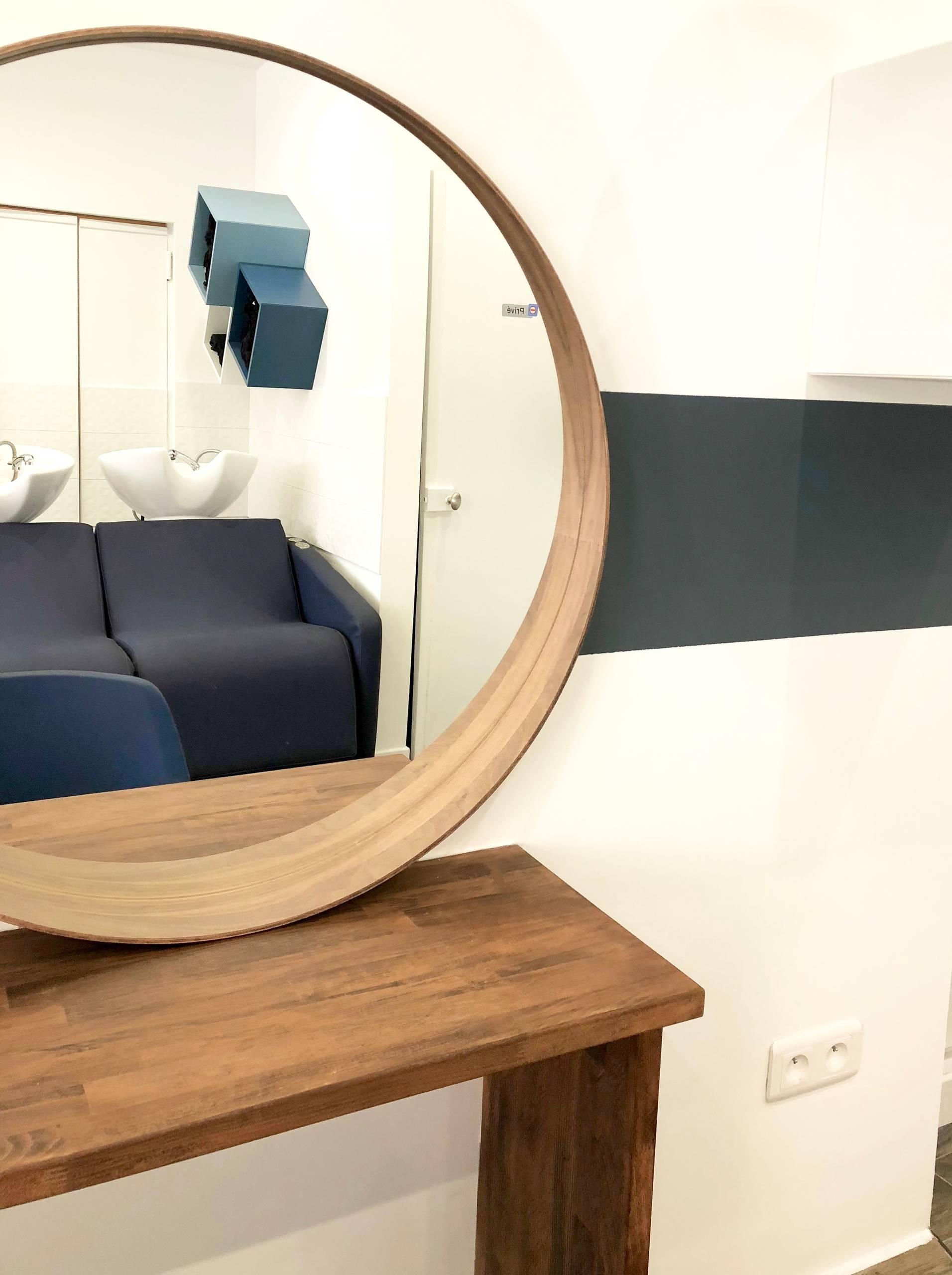 Gros plan sur un miroir