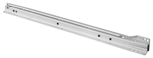 """Shop Houzz   Fulterer Fulterer FR1921 Euro Regular-Extension Drawer Slide 14""""-White 70055 ..."""