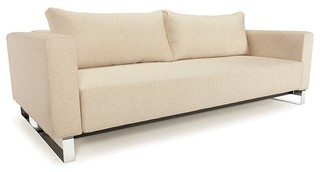 Cassius Sleek Excess Lounger Sofa Sleeper Innovation Modern Futons Other by Italmoda