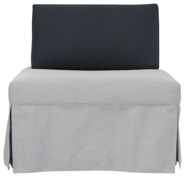 Sleeper Chair with Pull Out Mattress by Pezzan USA