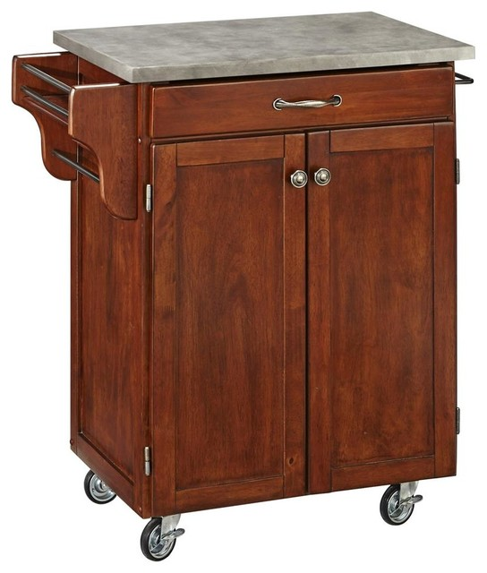 kitchen cart in cherry finish kitchen islands and