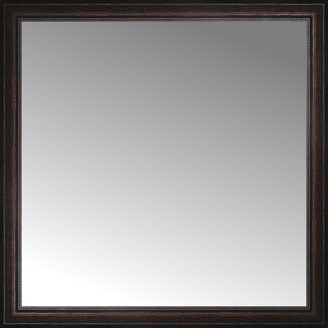 36 X Tuscany Embossed Custom Framed Mirror Traditional Wall Mirrors