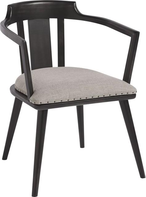Universal Furniture Spaces Dalton Barrel Back Side Chair, Set Of 2