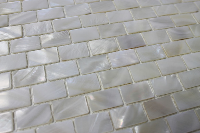 Kitchen Backsplash Mother of Pearl Oyster White 1 Inch Circle Mosaic Tiles