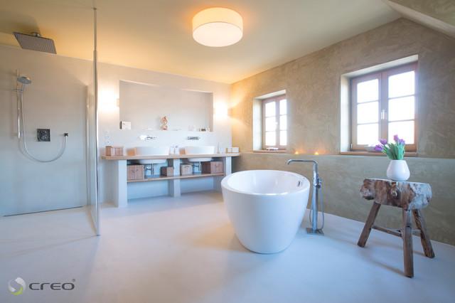 badgestaltung modern badezimmer berlin von creorooms. Black Bedroom Furniture Sets. Home Design Ideas
