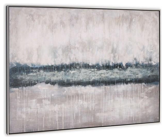 River Rising Canvas Art