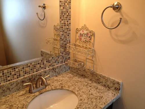 24 Mosaic Bathroom Ideas Designs: Build A Mosaic Tile Mirror In The Small Bathroom. Good