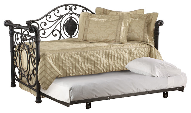 Mercer Daybed With Suspension Deck And Trundle.