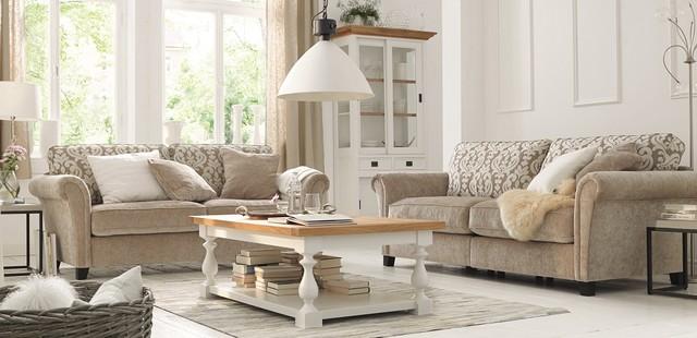 polsterm bel landhausstil. Black Bedroom Furniture Sets. Home Design Ideas