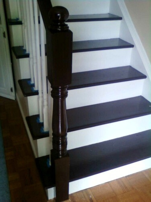How Do I Paint The Stair Area If I Paint All My Trim White