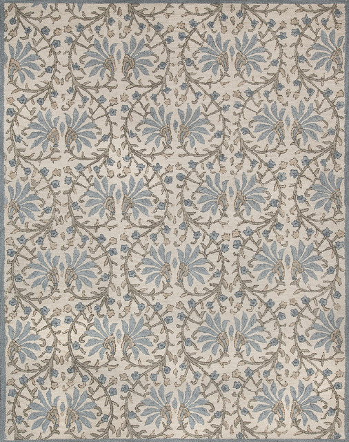 rugsville quinta moderno beige light blue rug8x10 arearugs