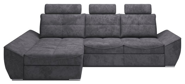 ALPINO Sectional Sleeper Sofa, Left