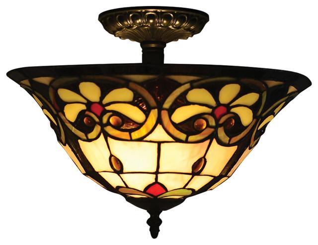 Reservoir Semi Flush Mount Victorian Ceiling Lighting