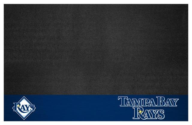 Mlb Tampa Bay Rays Grill Mat 26x42.