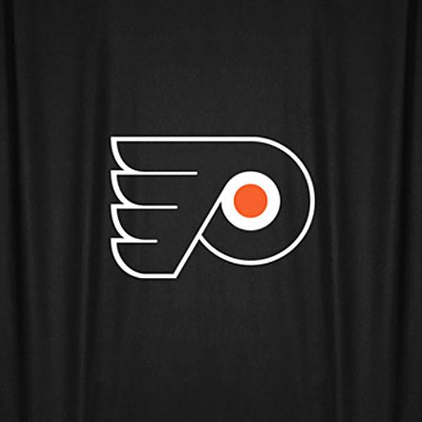 NHL Philadelphia Flyers Hockey Locker Room Shower Curtain