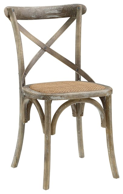 Gear Dining Wood Side Chair, Gray