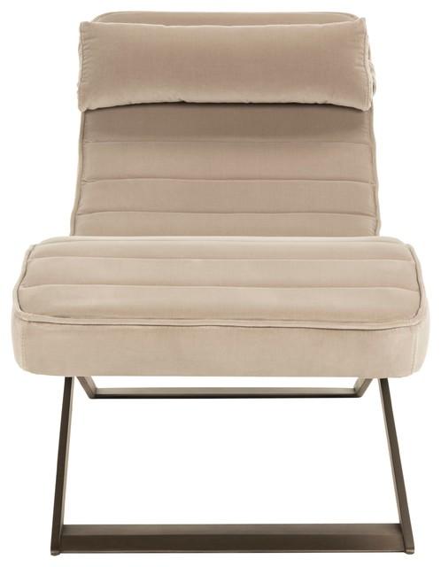 Safavieh Mandalay Velvet Chaise.