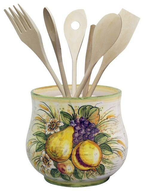 Kitchenware Holder With Incanto Adornment.