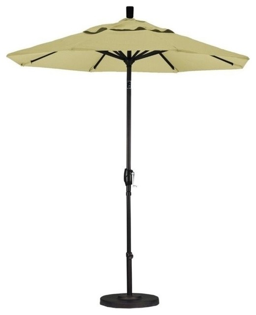 California Umbrella 7 5 Market Patio Umbrella With Push