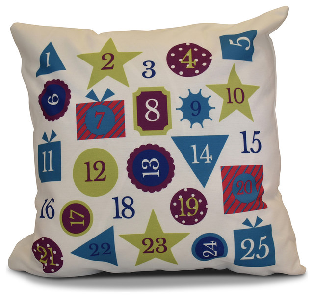 Decorative Holiday Outdoor Pillow Contemporary Outdoor Cushions
