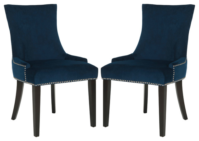 Safavieh Lester Dining Chairs Set Of 2 Transitional Dining Chairs By S