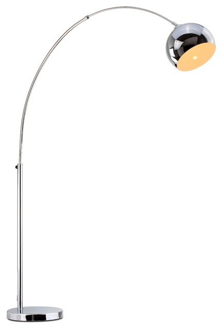 Hayden Arc Modern Floor Lamp.