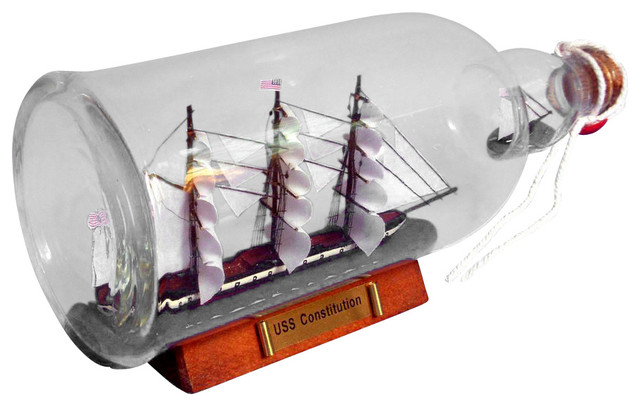 Uss Consution Ship In A Bottle 11