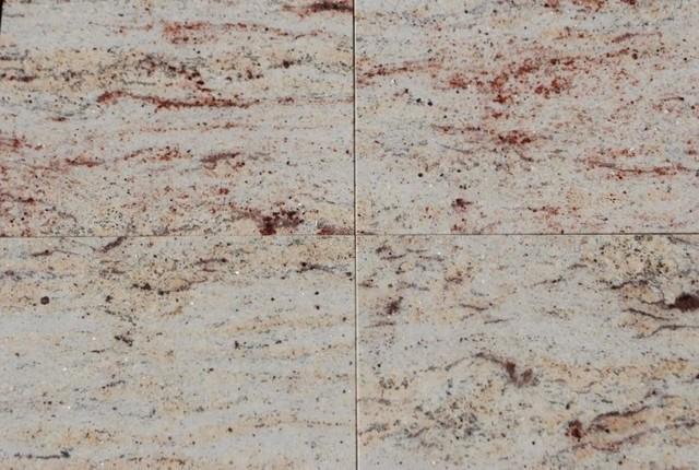 Ivory Brown Granite Tiles Polished