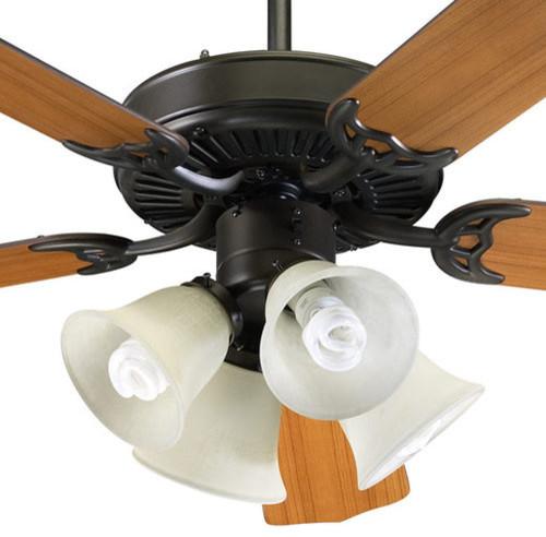 Quorum International 77525-8286 Capri Five Blade Indoor Ceiling Fan.