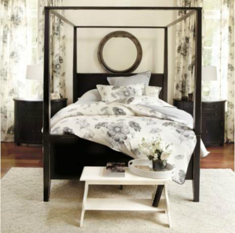 francesco 4 poster bed modern canopy beds by ballard designs. Black Bedroom Furniture Sets. Home Design Ideas