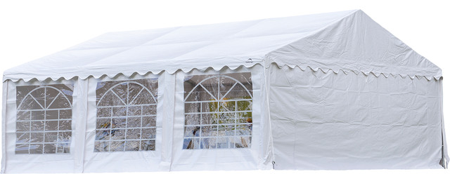 Party Tent Enclosure Kit With Windows 20x20 Ft Cover And Frame Sold Separately.
