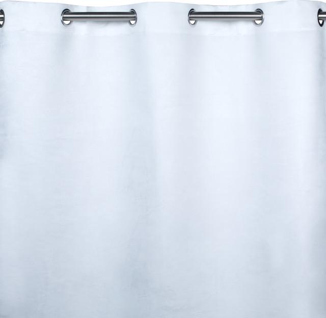 """Eyelet Curtain Montana, White, 55.1""""x137.8"""""""