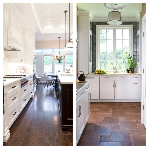 poll: wood floors in the kitchen?