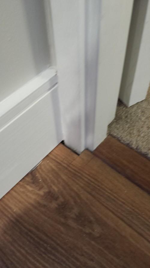 Space Between Laminate Floor And Wall Help
