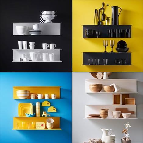 Mensole Cucina Design. Amazing Idee Per Riciclare Gli Oggetti Foto ...