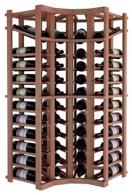 Antalia Wine Rack, Redwood.