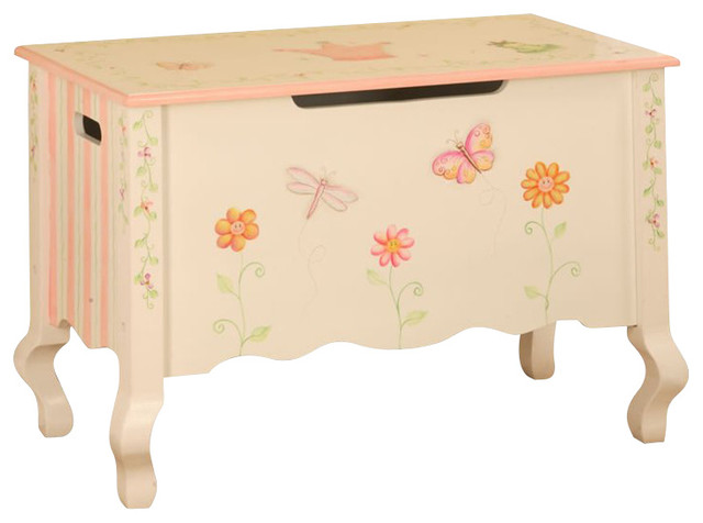 Super Teamson Kids Princess And Frog Hand Painted Kids Toy Chest Box Evergreenethics Interior Chair Design Evergreenethicsorg