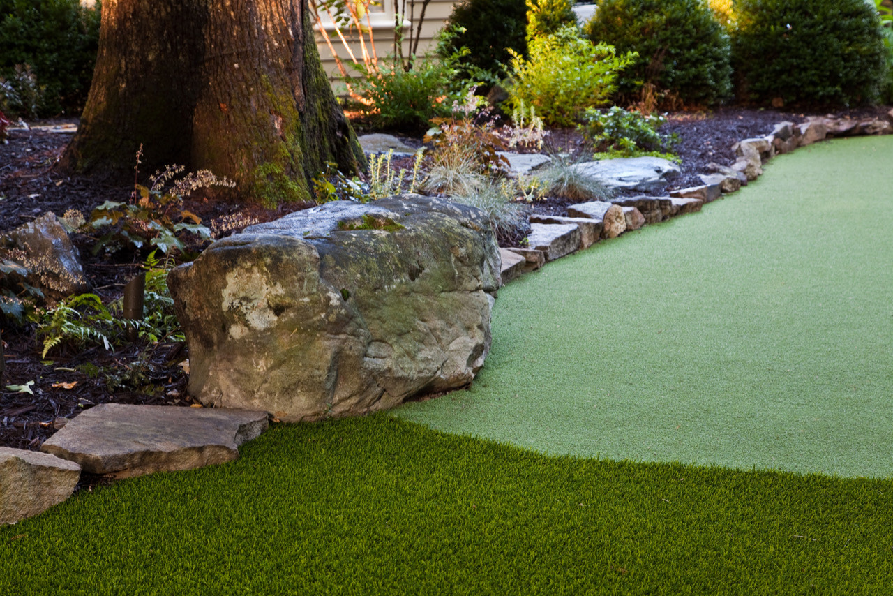 Garden Design on Mini Golf Course