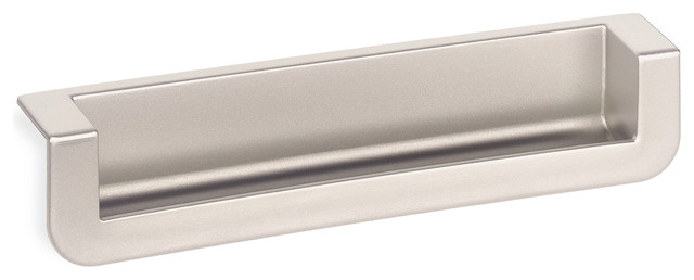 Schwinn 2518 Recessed Edge Pull, Matte Chrome - Contemporary - Cabinet And Drawer Handle Pulls ...