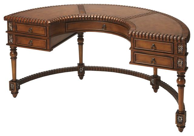 Butler Geneva Demilune Demilune Desk.