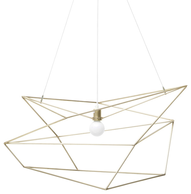 Spica Pendant Light, Brass.