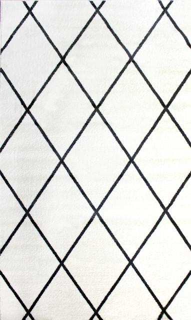Black And White Diamond Rug Roselawnlutheran