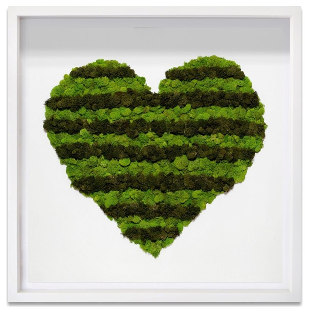 """heart Of Moss"" 3d Live Art."