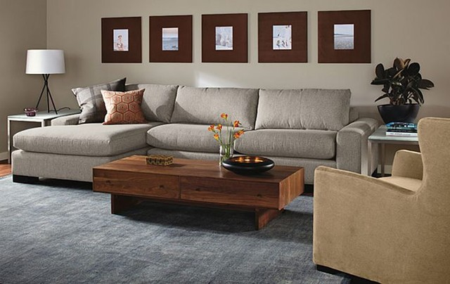 Townsend Sofa With Chaise Room By RB Modern Living