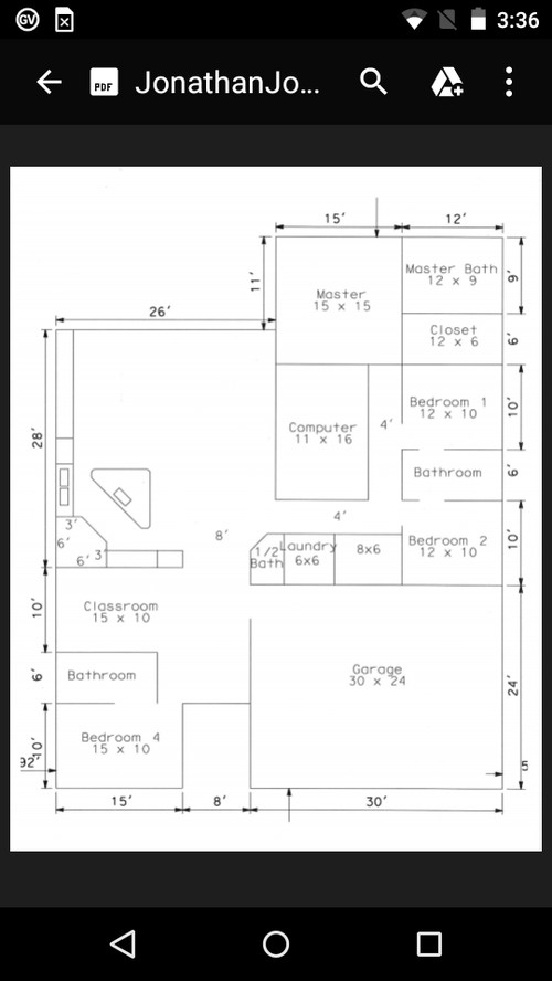 Husband and i cannot agree on a floor plan for Floor plan agreement