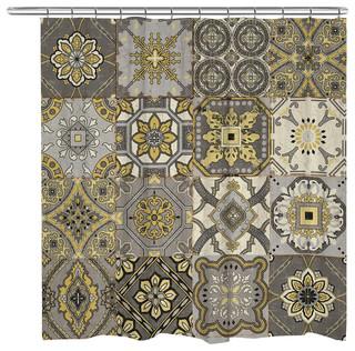 Laural Home Granada Shower Curtain