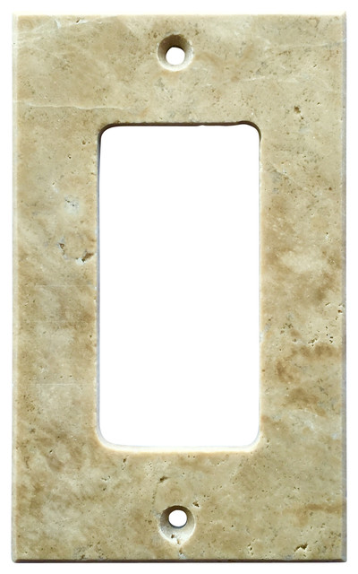 """5 Switch Outlet Cover Best Light Walnut Travertine Switch Plate Cover Rocker 2.75""""x4.5 Inspiration Design"""